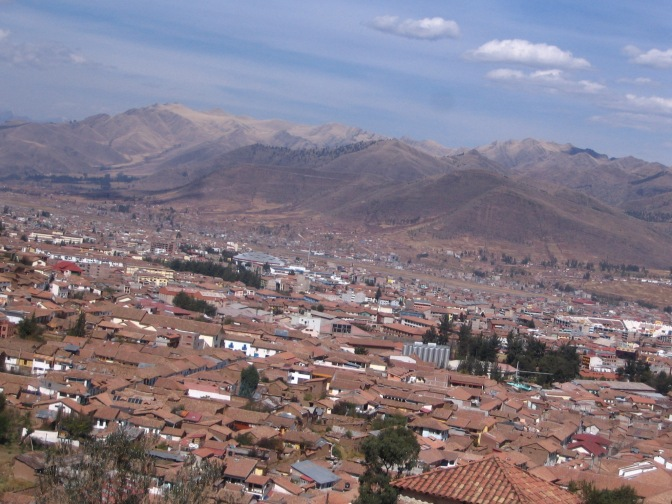 Cusco rests in her valley.