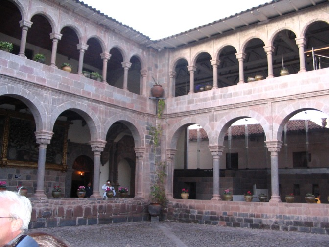 Actually, the cloisters of the Convent of Santo Domingo, built by the Qurikancha.