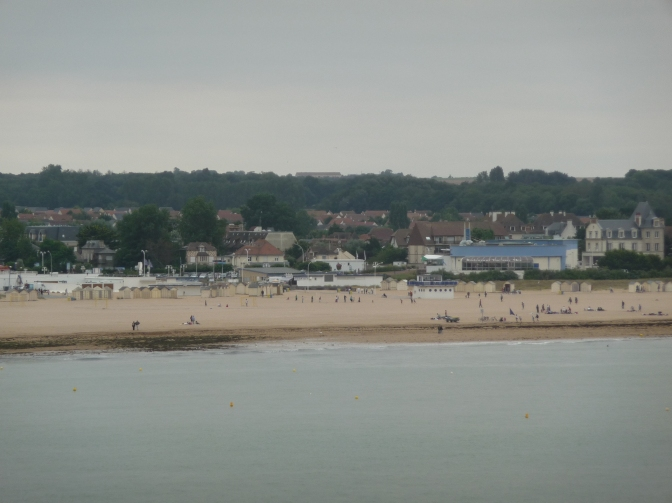 A few people still haunt the beaches, hoping for a bit of sun.