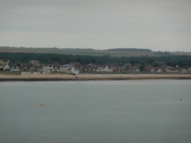 Ouistreham, the port of the City of Caen for over 300 years.