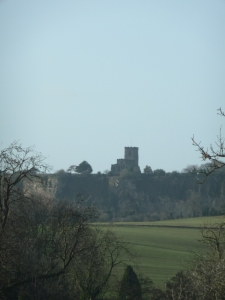 Set on a ridge, Breedon on Hill Priory watches the land under its care.