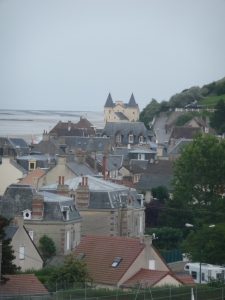 Arromanche-les-Bains, lovely and full of grace.