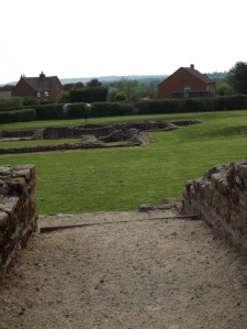From the remains of the guesthouse, this Roman posting station reminds us of who was once here.