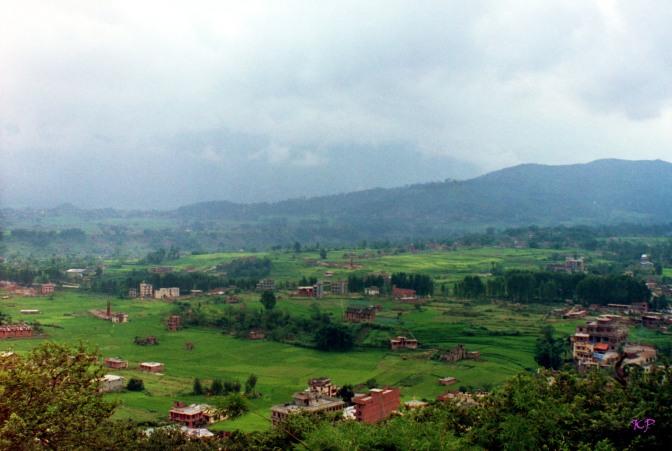 The Kathmandu Valley in 1992.