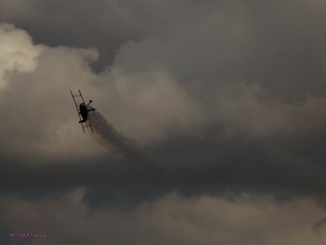 Biplane Acrobat