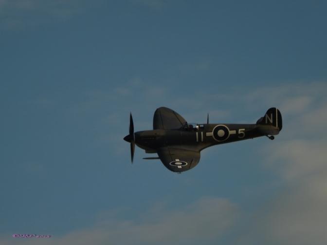 Spitfire Salute