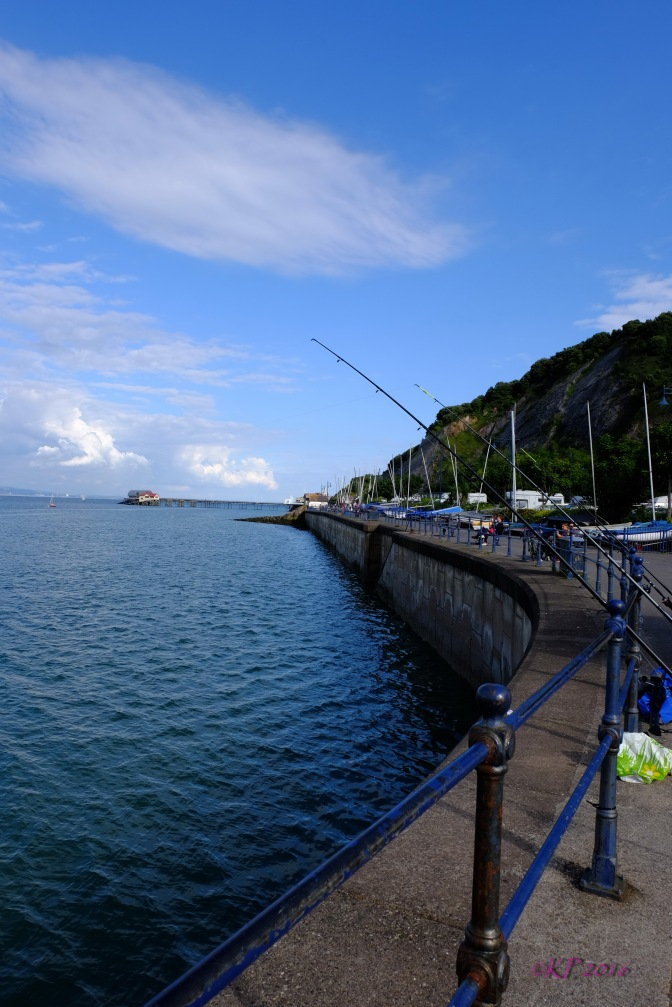 I love this view of Mumbles Harbour.
