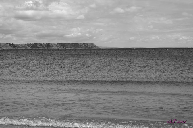 We had lunch in Oxwich then took the dog to the beach for an hour or so. I decided to shoot in B&W.