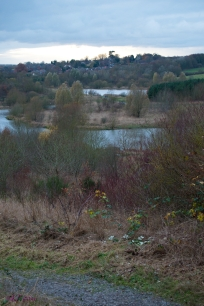 One of my favourite views at Sense Valley is across the lakes to the ridge opposite.