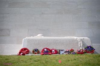 The Sarcophagus at the foot of the Memorial.