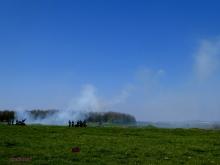 Smoke ring over the Douai Plain..