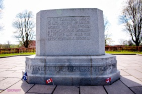The Canadian Monument at Crest Farm