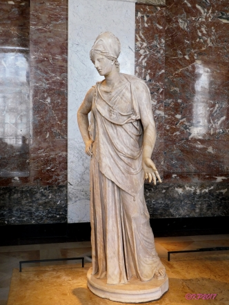 Athena Pacifique, based on a bronze from the 4th century.