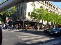 Restaurant Sarah Bernhardt at Avenue Victoria.