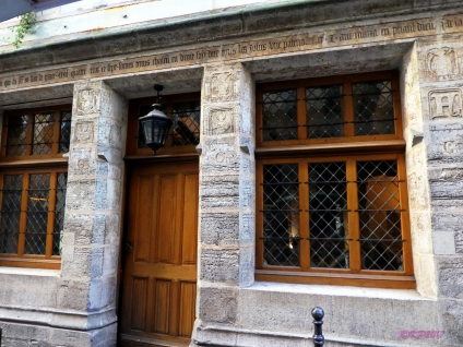 Nicolas Flamel's house, 1407.