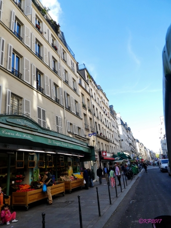 I would love to go back and explore rue Saint-Denis.