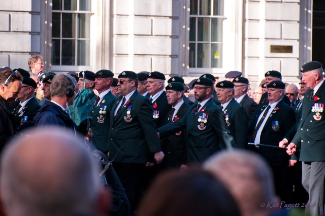 Members of the Rifles: 'First Into the fight and last from the fray.'